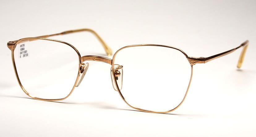 Antike Golddouble Brille aus den 30er/40er Jahren 10664