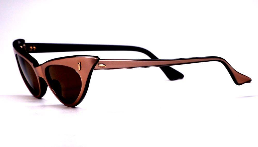 50er Jahre Schmetterlingsbrille als Sonnenbrille  1110219