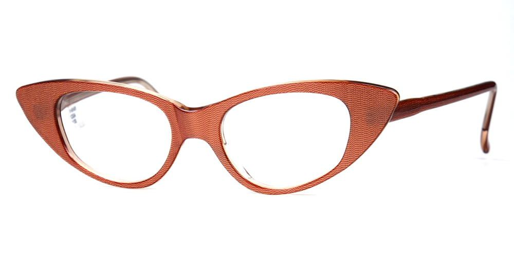 Brille der 60er Jahre, Schmetterlingsbrille, Cateye Brille,  Rockabillybrille 12004