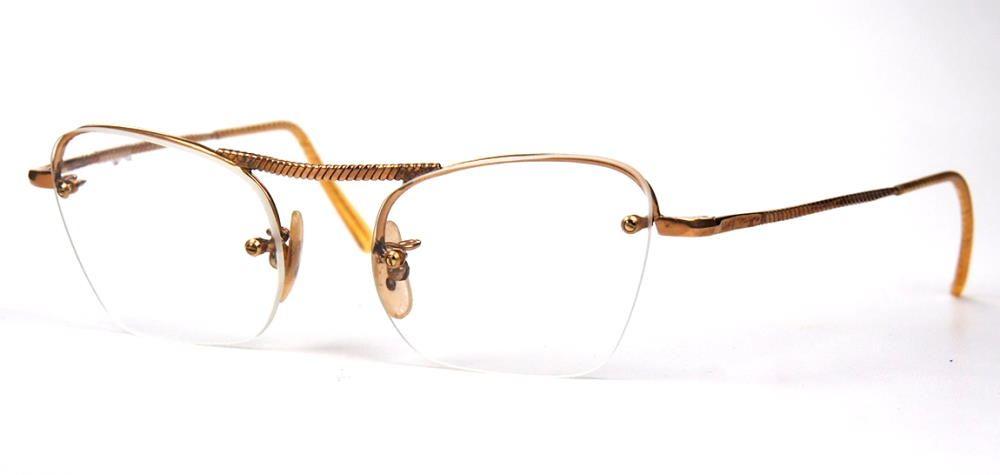 Echtes Vintage Brillengestell aus den 40er Jahren
