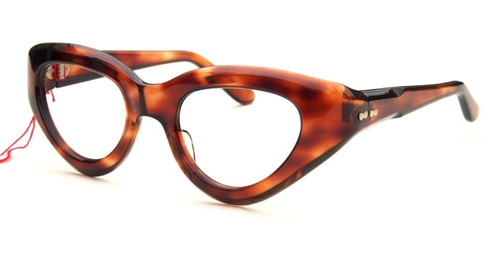 Schmetterlingsbrille, Cateye Brille  der 50er Jahre   1487