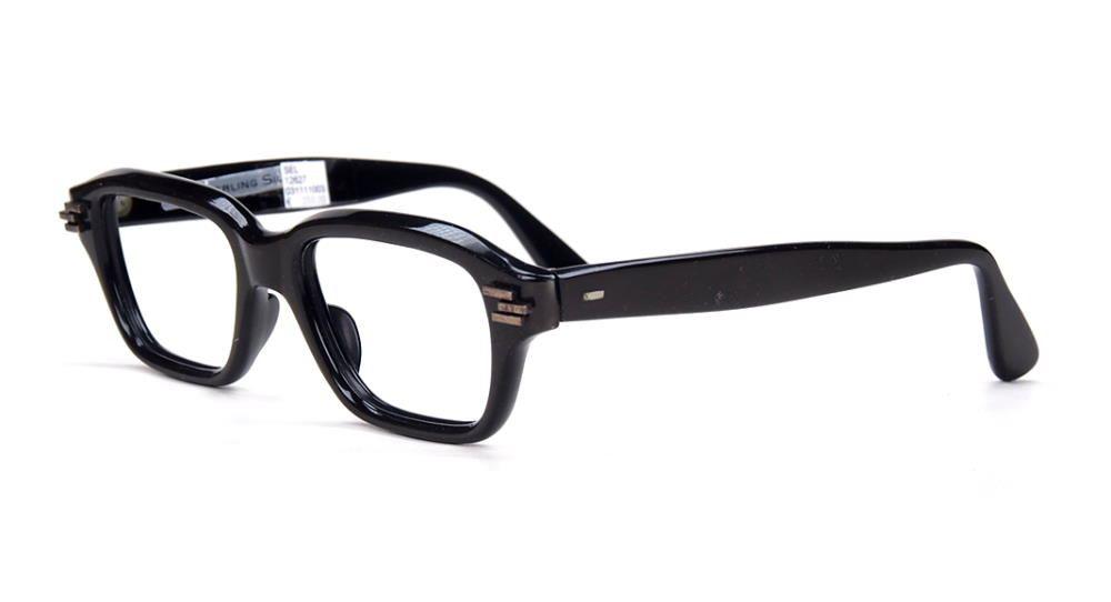 echte Vintagebrille der 50er Jahre mit 935 Serling Silber