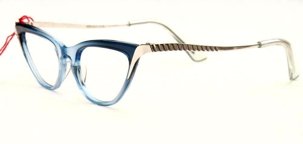 50er Vintagebrille, Cateye Brille, Schmetterlingsbrille 12674
