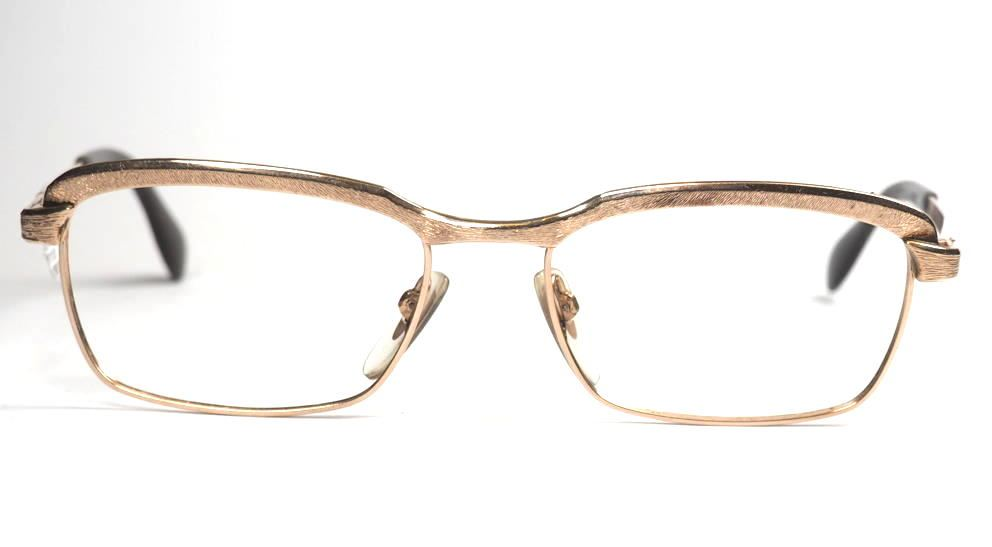 Golddouble Brille von Metzler, Made in Germany aus den 70er Jahren echt Vintage, second hand