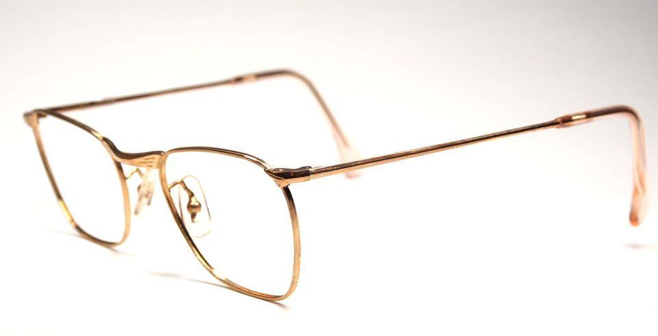 Antike Golddouble Brille aus den 30er/40er Jahren 12745