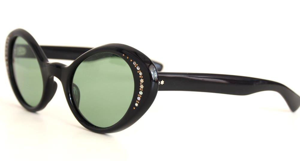 Vintage Sonnenbrille / Cateye Sonnenbrille aus den 60ern, Modell: Cateye mit Strass1443