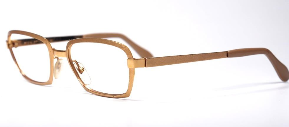60er Jahre, Goldmetallbrille  by Neostyle  1459