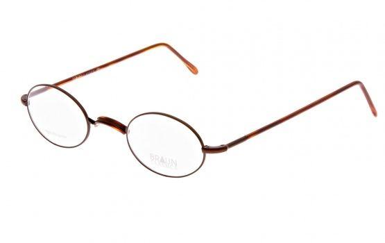 Braun Classics Eyewear, Brille Modell 151 F20 braun