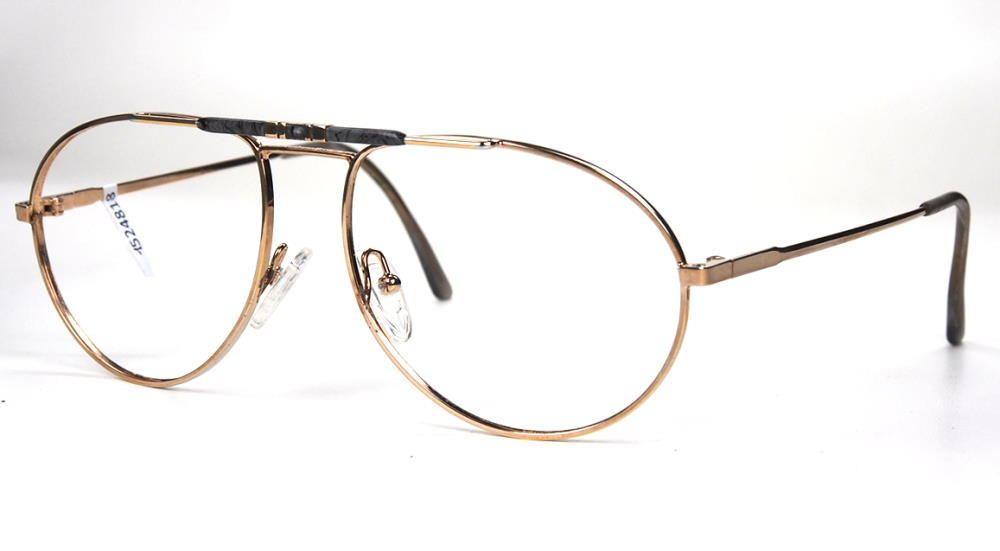 Vintagebrille der 90er mit Mittelsteg in Chinalack