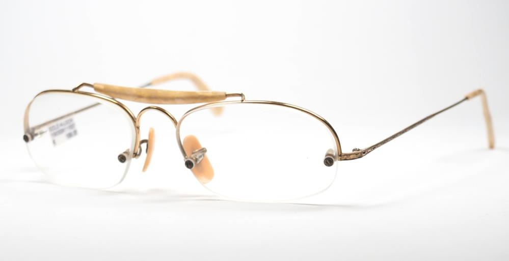 Antike Brille aus den 30er bis 40er Jahren in Golddouble