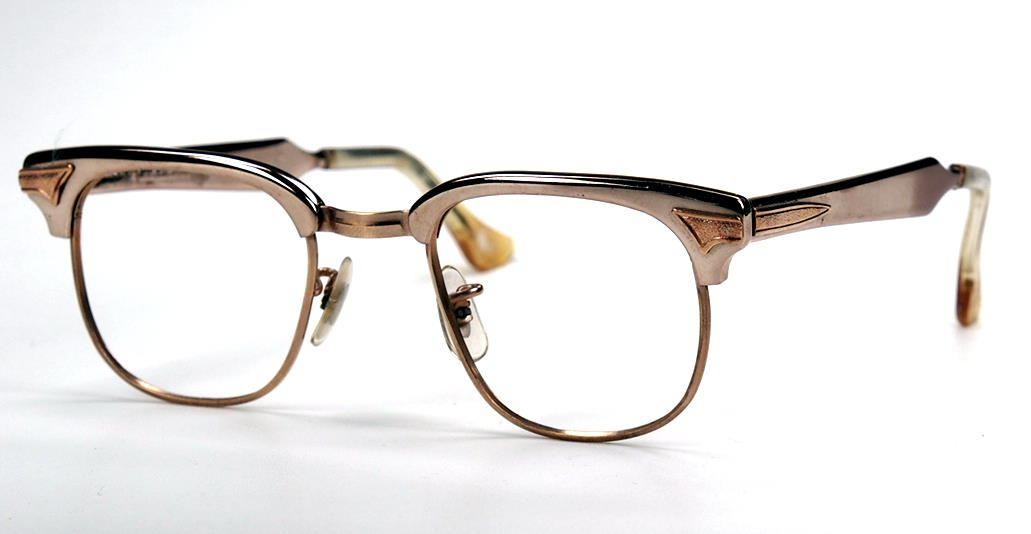 Vintagebrille aus den 60er Jahren von Hudson USA aus Aluminium