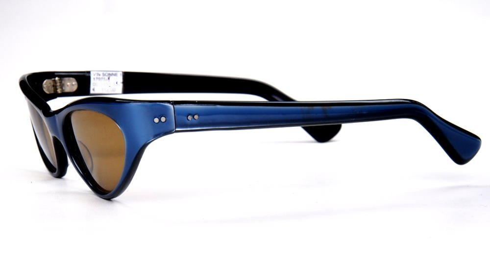 50er Jahre Schmetterlingsbrille Sonnenbrille super Klassiker der Fifties und Sixties in Top Zustand  18851