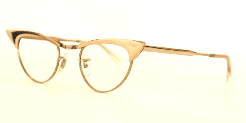 Echte 50er Jahre original Brille von Hudson USA  12 Karat