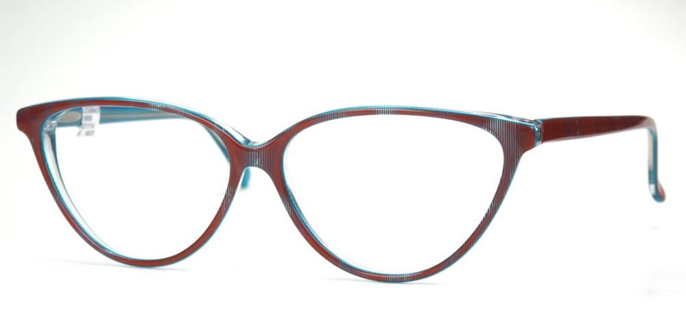 True Vintagebrille der 90er Jahre, große Schmetterlingsbrille
