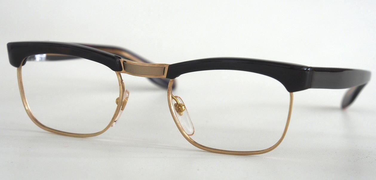 Herren Brille 19101 der 60er Jahre aus Golddouble