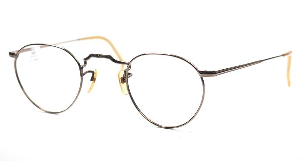 Antike Pantobrille aus Metall aus den 30er Jahren