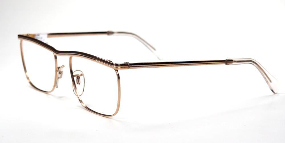 Golddouble Brille 12 Karat der 50er Jahre echt Vintage fabrikneu