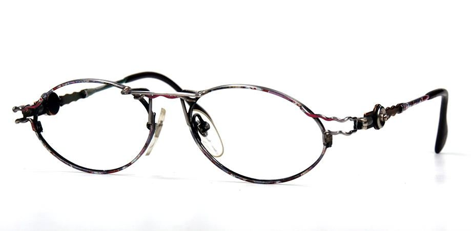 Vintagebrille oval im Casanova Style Nr. 210318