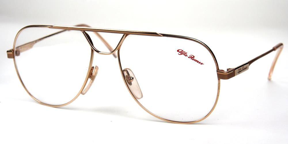 Vintagebrille echte Alfa Romeo aus den 80ern