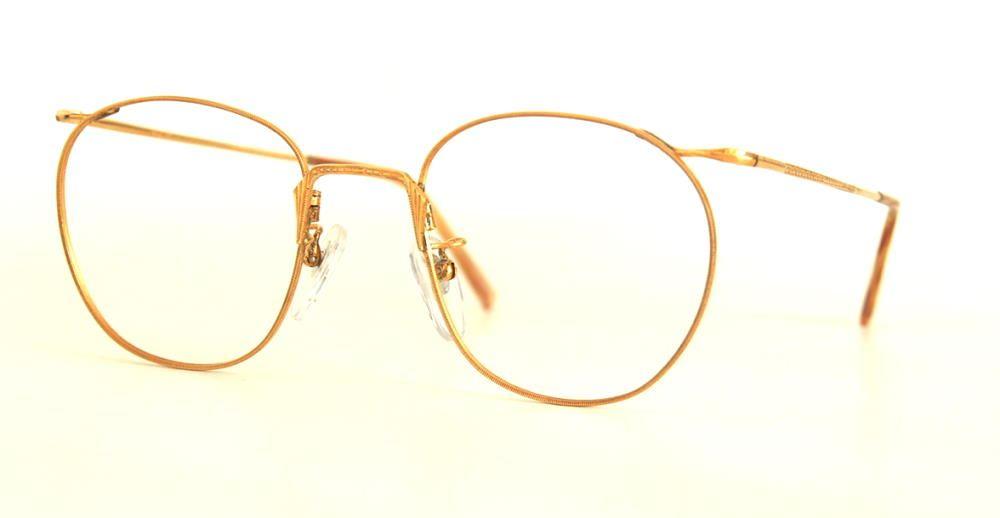 Antike Brille vergoldet aus den 40er Jahren