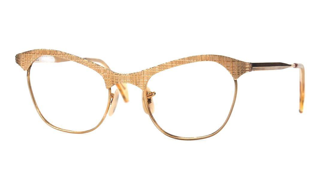 Amerikanische Vintagebrille der 40er Jahre