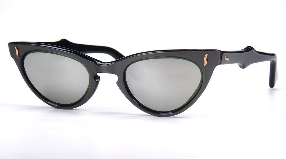 Cateye Sonnenbrille Schmetterlingsbrille Aus Den 50er Jahren Verspiegelte Glaser