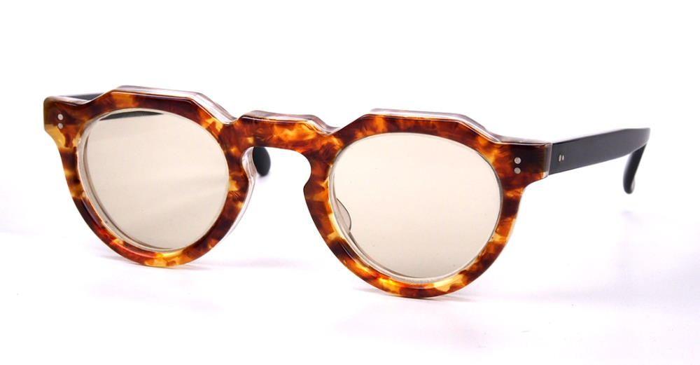 Vintagebrille der 40er Jahre, Pantobrille aus Brillenacetat,