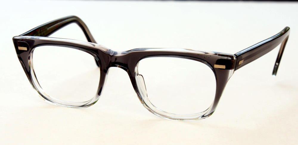 Kultbrille, Vintagebrille, Hipsterbrille, schwarz hell