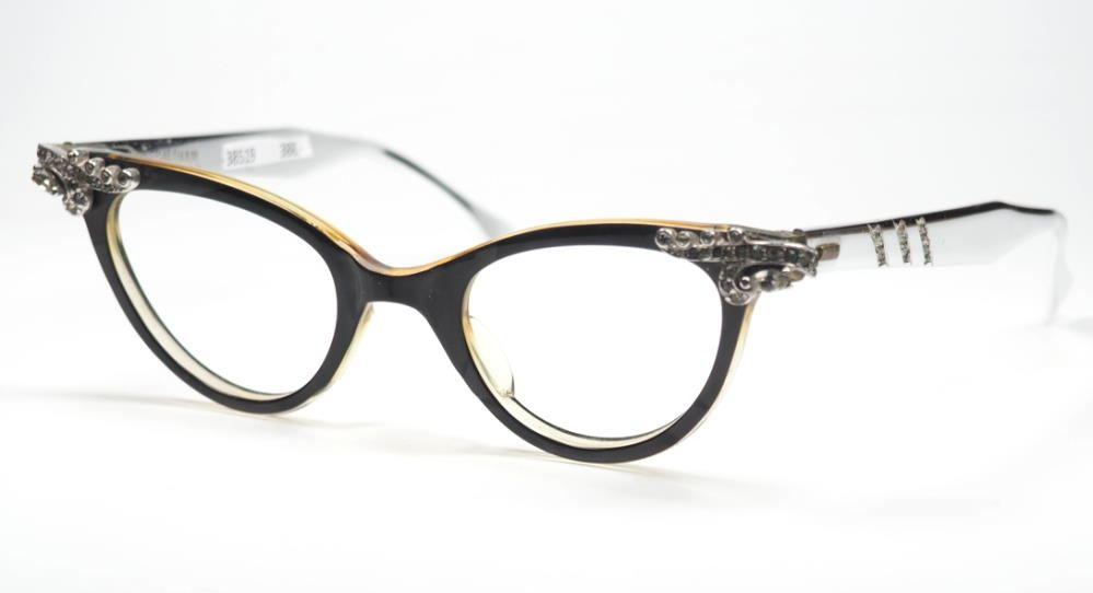 Schmetterlingsbrille, Cateye Brille aus Acetat mit sehr ausgefallenem