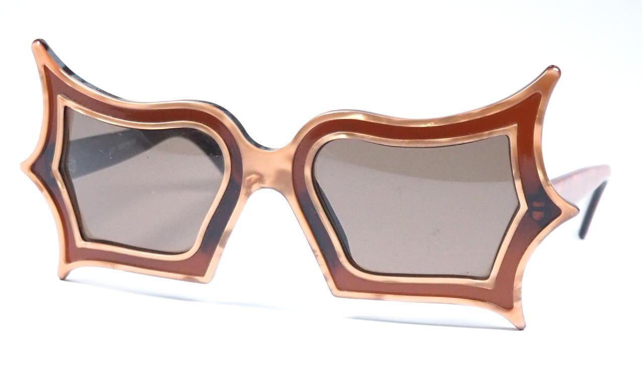 Peggy Guggenheim Brille made by Safilo,  verrückte Brillen, außergewöhnliche Brille, coole Vintagebrille, 415816