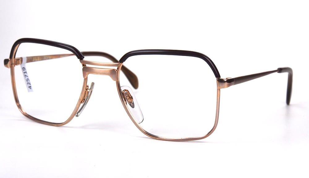 Vintage Brille der 90er Jahre original Metzler Metall mit Oberbalken