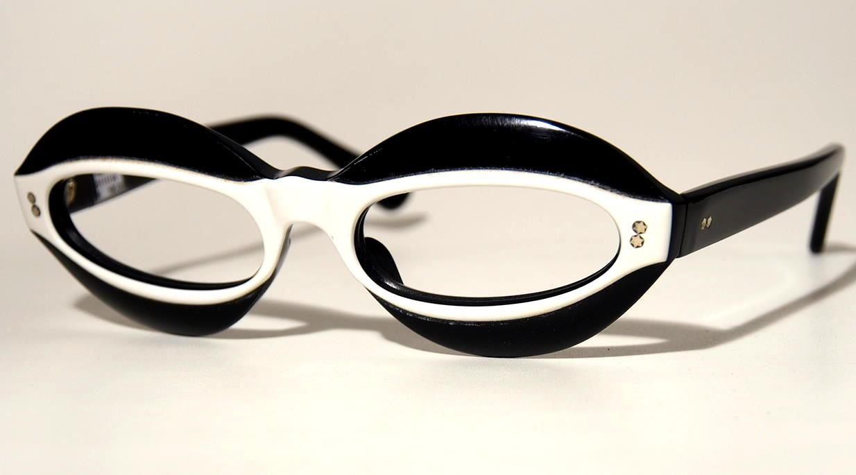 50er Jahre Vintagebrille fabrikneu  18811