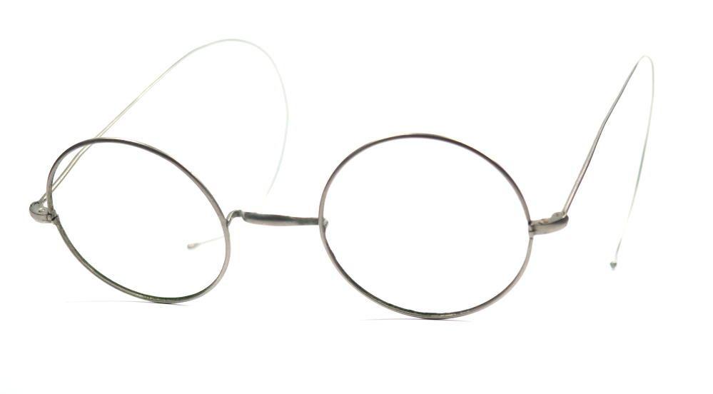 John Lennon Brille echt antik aus den 30er Jahren mit W-Steg und Sportbügeln