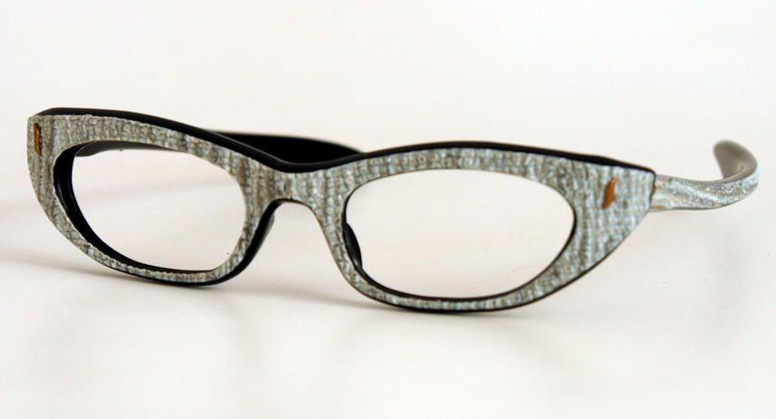 60er Jahre Cateye Brille 5516B als Schmetterlingsbrille