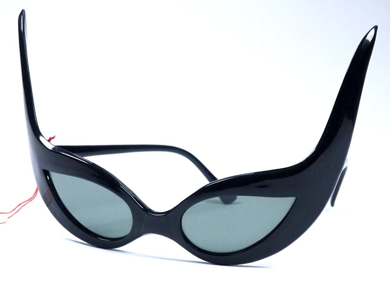 Teufelsbrille in schwarz original aus den 70ern.616816