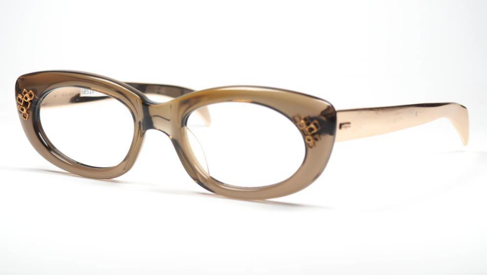 Cateye Brille der 50er Jahre, echt Vintage