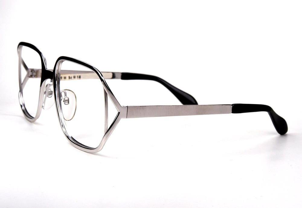 70er Jahre Vintagebrille in silberhochglanz original aus dem Hause Marwitz in feinster Qualität