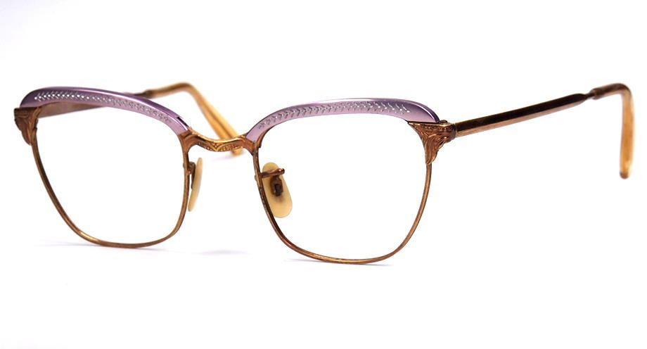 Vintagebrille aus den 40er Jahren , Made in France