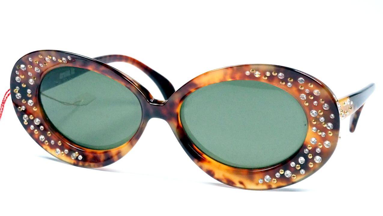 Vintage Strass-Brille für Film und Theater große Form. 715816  verrückte Brillen, außergewöhnliche Brille, coole Vintagerille
