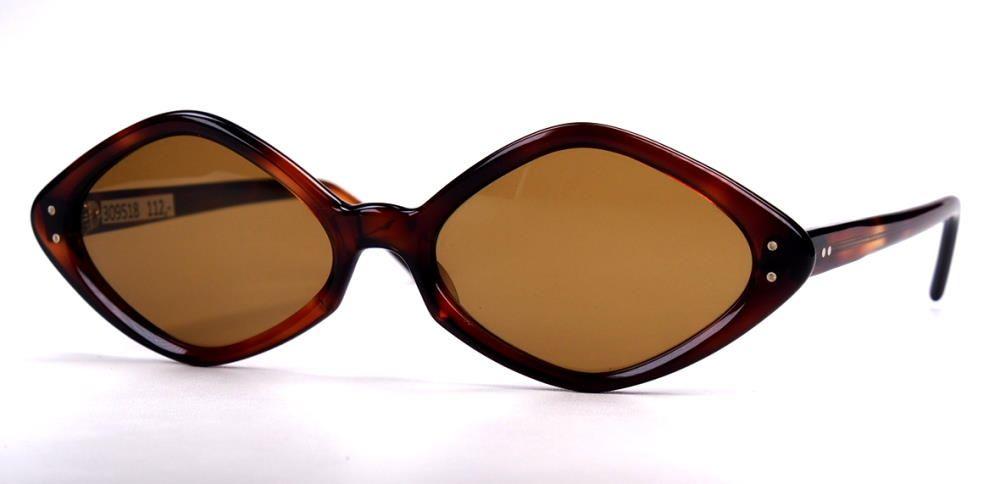 Sonnenbrille, große Form original Vintage Brille der 80er Jahre