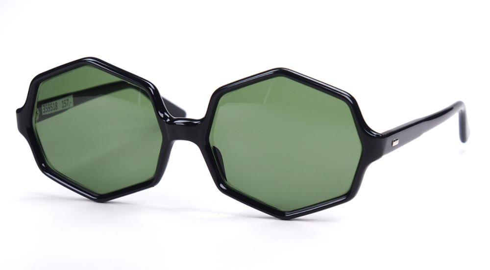 Vintage Sonnebrille achteckige Brille der 80er Jahre 339518