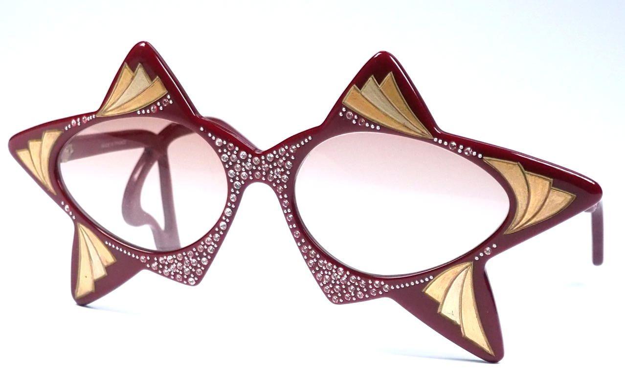 Eine der ausgefallensten Brillen weltweit,  verrückte Brillen, außergewöhnliche Brille, coole Vintagebrille, 85816