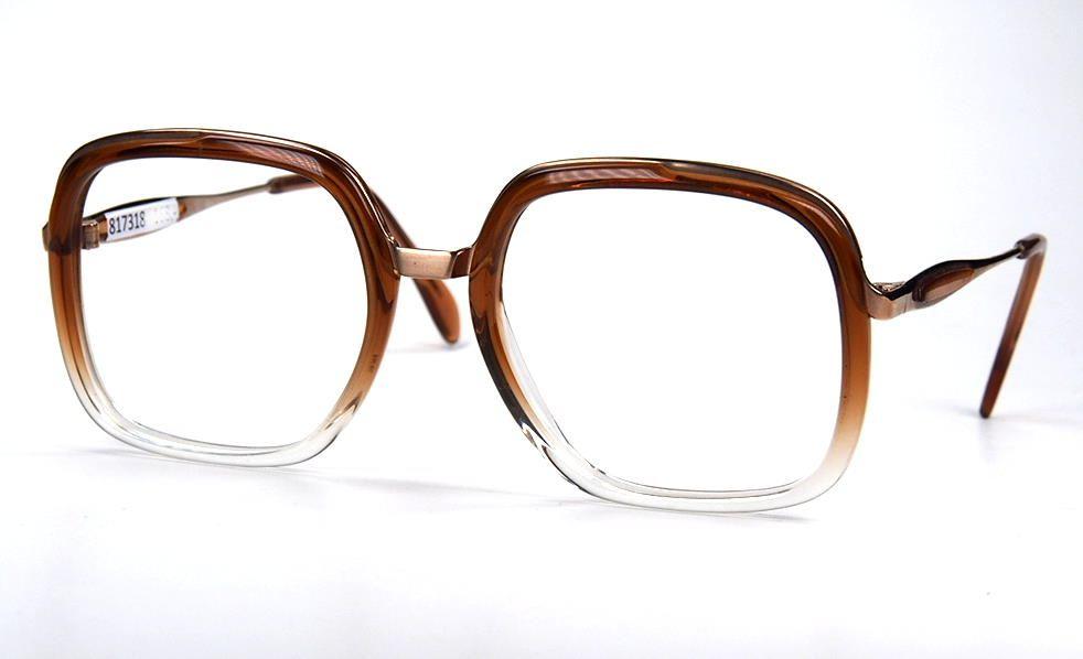 90er Jahre Vintagebrille, von Metzler Modell 232
