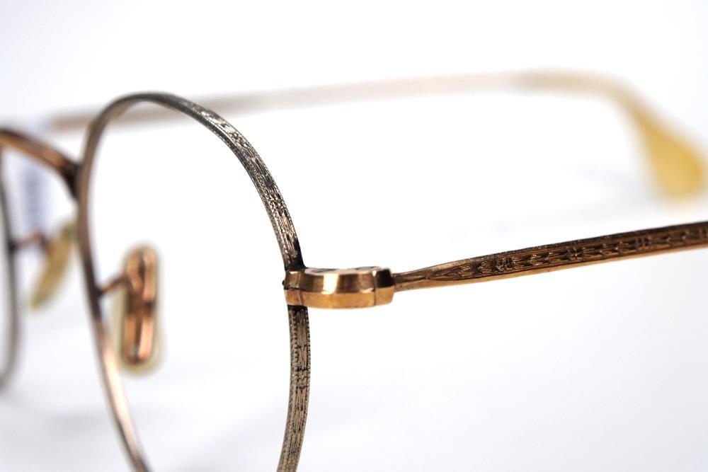 Antike Pantobrille aus Golddouble aus den 30er Jahren in 20 Karat