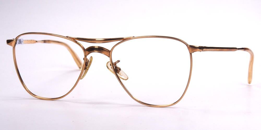 Antikbrille Golddouble Brille aus den 40ern 89519