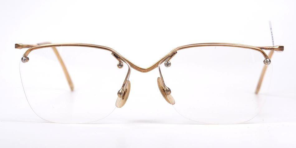 40er Jahre Damen-Brille als Goldmetall 19118