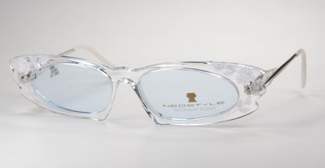 Vintagebrille der 80er Jahre aus seltenem Acryl, von Neostyle