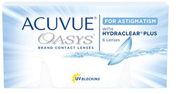 Acuvue Oasys mit Hydraclear for Astigmatism 2x6 Stück Johnson&Johnson