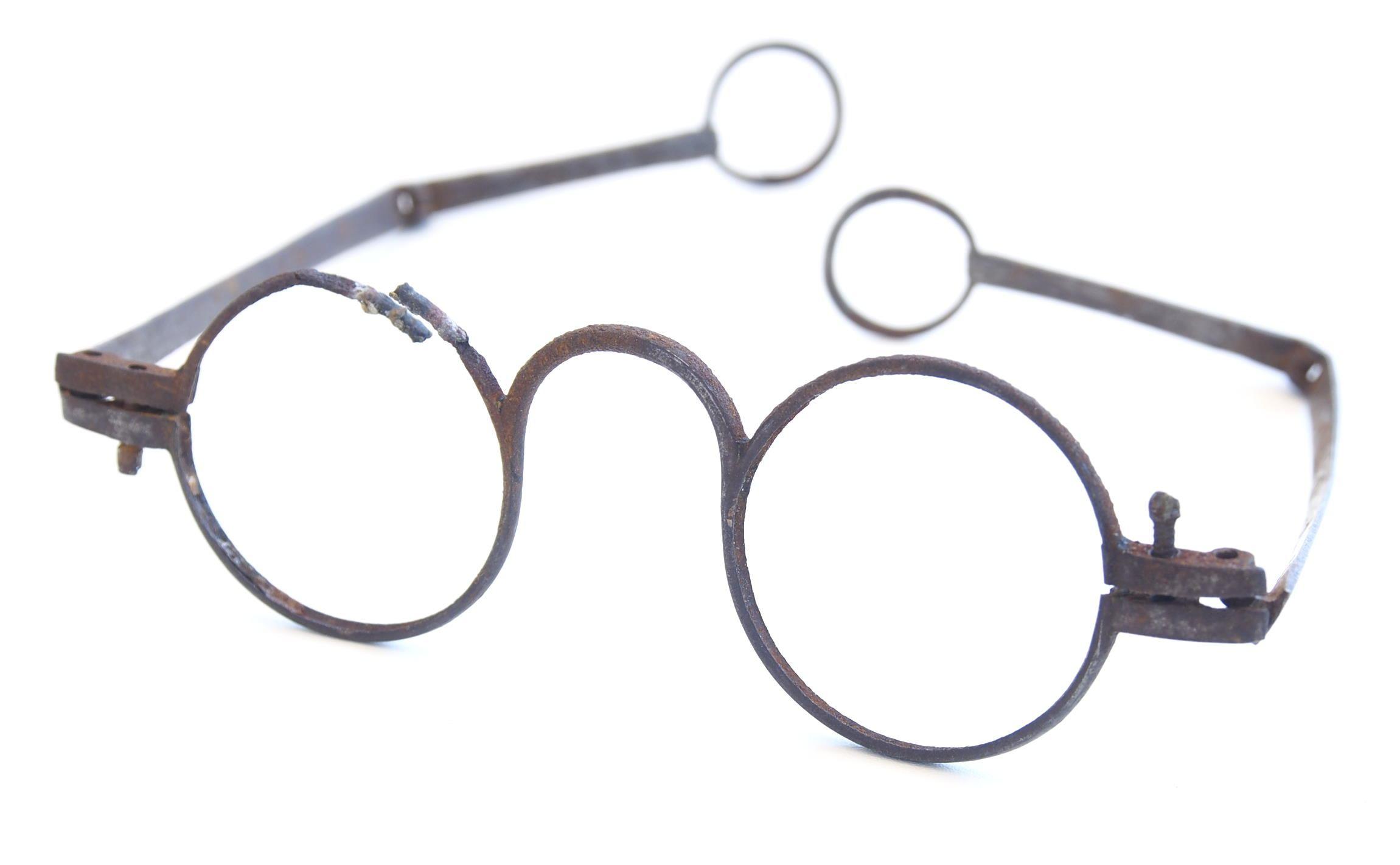 Brille aus Eisen vor 1700