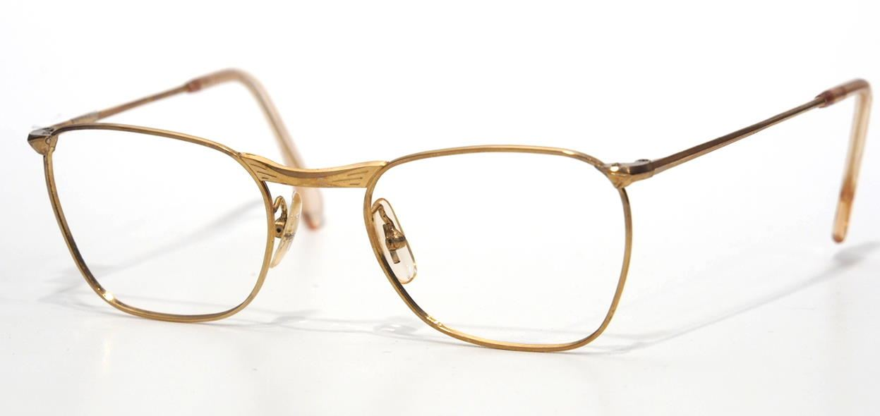 Antikbrille Golddouble 12 Karat 12750